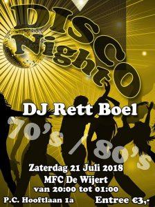 Disco Night @ MFC De Wijert Helpman | Groningen | Groningen | Nederland