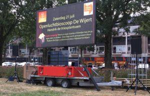 Openluchtbioscoop 2019 @ Hendrik de Vriesplantsoen