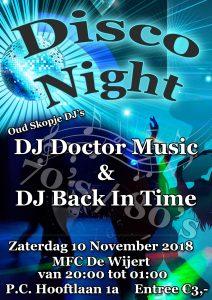 Disco met oud Skopje DJ's @ MFC De Wijert / Helpman   Groningen   Groningen   Nederland
