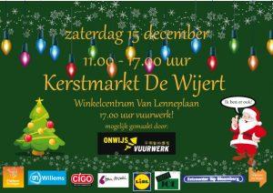 Kerstmarkt De Wijert @ Winkelcentrum Van Lenneplaan